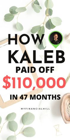 Do you need some motivation to get debt free? Find out how Kaleb paid off $110,000 worth of debt. He had every debt you can think of from student loans, car loan, medical bills, instrument loan, credit cards, and a personal loan. He made the choice and decided he was going to be debt free. After 47 months, he officially has no debt. Find out the tips it took him to get there. #debtfree #debtfreecommunity #debtfreelife #debtfreejourney #debtfreeliving