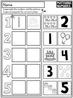 Back to School Worksheets Kindergarten FREEBIE | teaching materials ...
