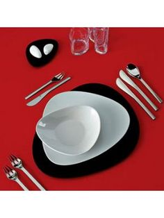 Alessi Tableware Colombina Bowls