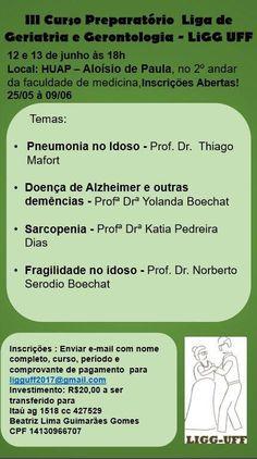 Brasil:Curso Preparatorio de Geriatría y Gerontología | Central Informativa del Adulto Mayor