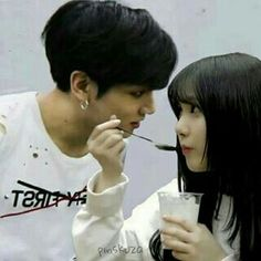 Anyone know's why jungkookie looking eunha like that?