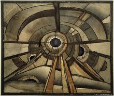 Will Paint Nails for Food: 31 Day Challenge: Day Twenty-Seven, Inspired by Artwork: Lee Bontecou, Untitled, 1960