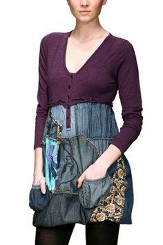#Farbbberatung #Stilberatung #Farbenreich mit www.farben-reich.com Altered Clothing Inspiration :: Geinchi -Desigual