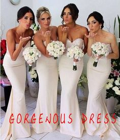 Sweetheart bridemaid dress /bridemaid dress / by Gorgenousdress, $127.00