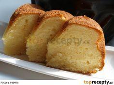 Bábovka z podmáslí Cornbread, Banana Bread, Baking, Eat, Ethnic Recipes, Millet Bread, Bakken, Backen, Corn Bread