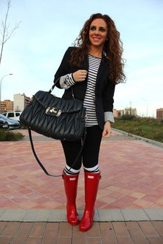 Stripes, black and red