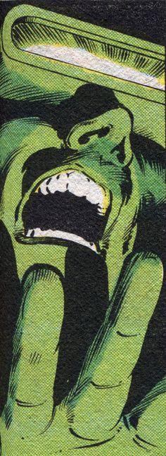 Green Cyclops - Art by Bret Anderson & Josef Rubinstein (1981).