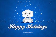 Free Christmas Card Photoshop PSD Templates