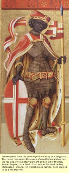 Unidentified depiction of a noble knight of the Holy Roman Empire.