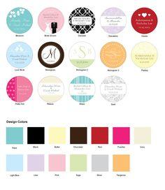 http://www.mybomboniere.it/matrimonio/bomboniere-per-tipologia/bomboniere-fai-da-te/etichette-personalizzate-wedding.html Scegli il colore ed il design dei biglietti per accompagnare le tue bomboniere! Vendita come set di 48.