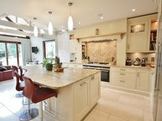 "shaded white"" classical kitchen design near dalkey, ireland"