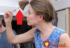 Dámy, toto je skvelé: Profi kaderník ukázal jednoduchý trik, ako si perfektné ostrihať vlasy doma za 10 minút!