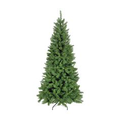 8Ft Spruce Christmas Tree Green Artificial Outdoor Decoration Stand Traditional
