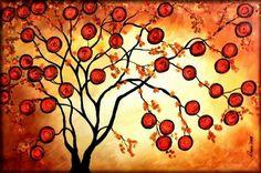 ORANGE TREE   Peggy Garr