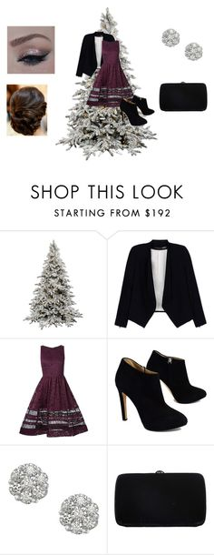"""""""New Years Eve"""" by sydclaire ❤ liked on Polyvore featuring Alice + Olivia, Giuseppe Zanotti, Sergio Rossi, NewYears, 2016 and SydClaire"""