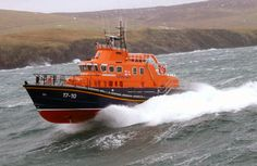 RNLI Severn Class lifeboat. Keep your yachts, this thing's awesome!