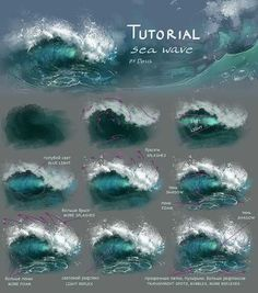 Glowing Acrylic Painting Tutorial For Beginners Digital Painting Tutorials, Digital Art Tutorial, Art Tutorials, Acrylic Tutorials, Canvas Painting Tutorials, Drawing Tutorials, Acrylic Painting Techniques, Art Techniques, Acrylic Wave Painting