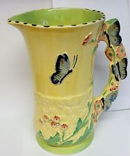 Burleigh/burgess & Leigh Independent Art Deco Burleigh Ware Dragon Jug Figural Jug Super Item Circa 1920s Cool In Summer And Warm In Winter