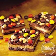 Peanut Butter Cup Bars from Pillsbury® Baking #finaltest #pillsbury