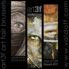 Hope to see you soon in Belgium 😊 Art3F Brussels / International Art Fair Sept' 22nd - 25th 2016 Warmest regards Val d'Off / visual artist / Stand H17
