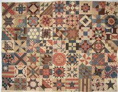 Civil War Quilts - PassionPatchwork