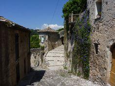 Biot alley, France