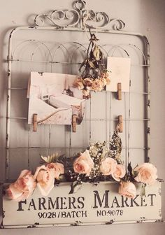 DIY Shabby Chic Gate                                                                                                                                                                                 More
