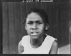 A girl at Hill House, a Mississippi resettlement community, 1936.