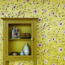 Eijffinger Un Bisou Patterned Floral Magnolia Bird Feature Wallpaper Wallpaper Uk, Wallpaper Online, Fabric Wallpaper, Designer Wallpaper, Pattern Wallpaper, Feature Wallpaper, Motif Floral, Little Girl Rooms, Pattern Books
