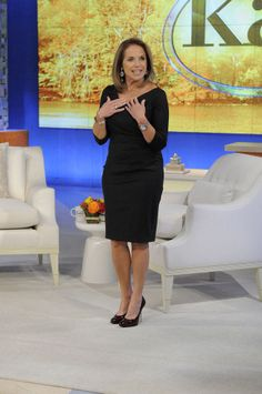 pantyhose Katie couric wearing