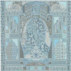 Shawl in 100% silk chiffon (140 x 140 cm)
