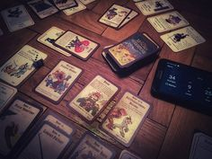 Evil GM zliczania gear score'a.  #neiragra #Munchkin #cardgame #tabletop #geeks #steampunk #HongKong #perfectevening