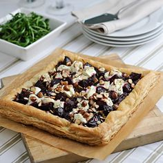 beet goat cheese walnut tart - Google Search