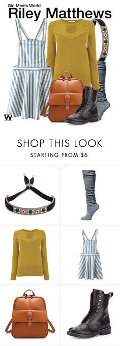 """""""Girl Meets World"""" by wearwhatyouwatch ❤ liked on Polyvore featuring Marc Jacobs, Lemon, Oasis, WithChic, rag & bone, television and wearwhatyouwatch"""