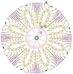 Tutorial: pastilla o motivo cricular calado en forma de flor