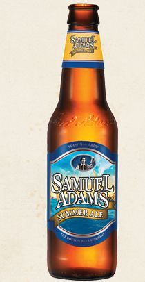 Samuel Adams® Summer Ale is an American wheat ale. This summer seasonal uses malted wheat, lemon peel and Grains of Paradise, a rare pepper from Africa first used as a brewing spice in the 13th century, to create a crisp taste, spicy flavor and medium body.