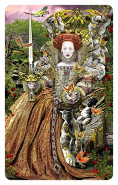 Queen of Swords - Tarot Illuminati