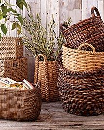 World Market baskets. Rattan, Market Baskets, Wicker Baskets, Cane Baskets, Woven Baskets, Picnic Baskets, World Market, My New Room, Basket Weaving