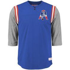 MAJESTIC our team Shirt-New England Patriots Grigio