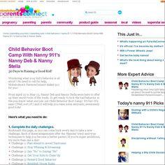Child Behavior Boot Camp With Nanny 911's Nanny Deb & Nanny Stella | nanny 911 | Parents Connect