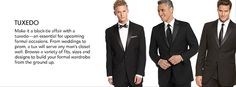 Carl Anthony Tuxedo is all about your look!