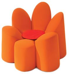 If this orange chair