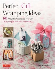 Master the age-old art of gift wrapping with this easy-to-follow papercrafting book.Perfect Gift Wrapping Ideas:101 Ways to Personalize Your Gift Using...