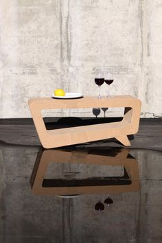 RE:TABLE from cardboard - eco furniture for your home