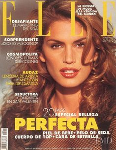 Covers of Elle Spain with Cindy Crawford, 000 1993 | Magazines | The FMD #lovefmd