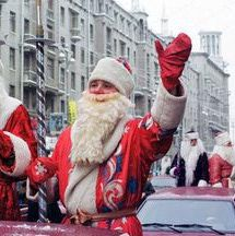 """The Russian Santa Claus is known as Ded Moroz. """"Ded Moroz"""" translates to """"Grandfather Frost"""" in English, but most English speakers simply call him """"Father Frost."""" He is a figure associated with Russian Christmas traditions and New Year's traditions."""