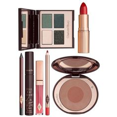 Charlotte Tilbury The Rebel Gift Set ($260) ❤ liked on Polyvore featuring beauty products, gift sets & kits, makeup, beauty and filler