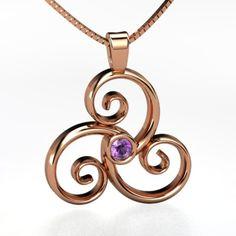 The Triscele pendant