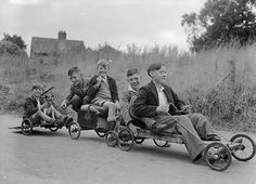 billy carting - when kids laiked out they got mucky and they were very healthy.