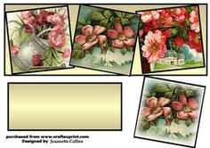 Vintage Flowers on Craftsuprint - View Now!
